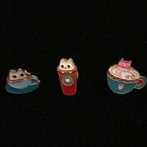 Jewelry - Cat pins